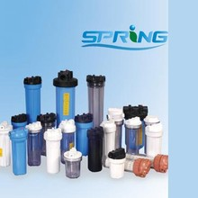 """High Quality 5"""" 10"""" 20"""" Plastic Water Filter Housing"""