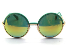 mirror reflective ancient round sunglasses many different color available