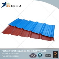 Construction material price from china Plastic ASA/PVC Roofing Tile