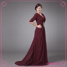 Sexy A-line V-neck Floor Length wedding dress fashion women evening dress