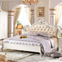 antique furniture factory wholesale bedroom furniture simple double bed