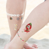 long lasting 4C printing tattoo sticker printing paper with red lips