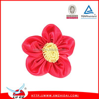 Colorful wedding rose satin organza for wedding packing