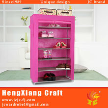 High Quality Bedroom Home Furniture Shoe Cabinet Storage with Non Woven Fabric