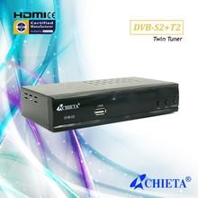 Combo HD DVB-S2 + DVB-T2 TV Decoder Set Top Box