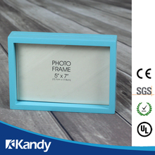 CE certification High quality promotion baby blue handprint photo frame