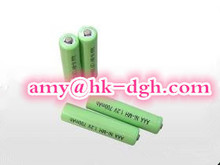 NI-MH 2/3 AAA 250mAH rechargeable battery pack