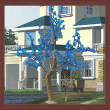 new product artificial led cherry tree light christmas , garden or home christmas decoration light
