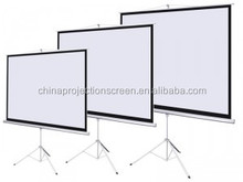 Protable Floor Pull Up Tripod Projection Screen