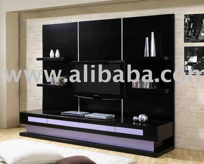 De madera de plasma tv muebles de caja muebles para el hogar - Muebles para televisiones planas ...