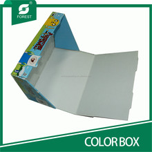 HANDMADE CORRUGATED COLOR FOLDED DISPLAY BOXES FOR PERSONAL CARE