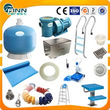 Conjunto completo de la piscina sistema de natación accesorios de circulaciónLuz, Desinfectar nadando equipo de la piscina