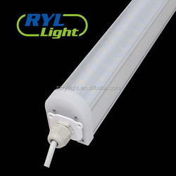 factory supply waterproof IP65 tri proof LED light suspended 1200mm 36w