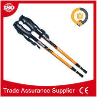 CHS05-3 Trade Assurance Supplier aluminium telescopic wooden hiking stick