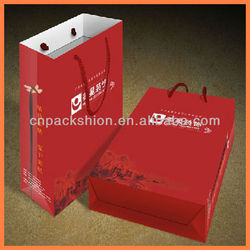 Durable design wine bottle gift bag with the style for you
