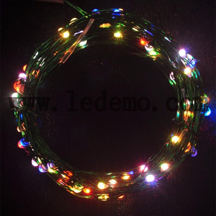 10m 100 Christmas Decoration Led Copper String Light - Buy Led Copper String Light,Outdoor Led ...