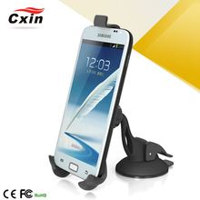 Gps(Optional) Speaker Mounted To The Louvers Hot Sale Phone Holder Car Charger With Neoprene Cell Phone Holder