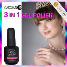 High Quality Fashion Colors V.Chlo one step uv gel uv gel nail polish one step nail gel polish
