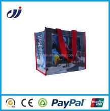 Reusable Eco-Friendly Portable hot pp woven shopping bag