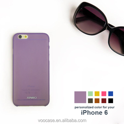 High quality low price mix bright color hard PC phone case blank cover for iPhone 6/6Plus