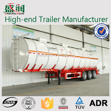 60CBM Fuel Tank Semi Trailer Oil Tanker Vessel For Sale