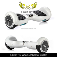 No.0104 Most Popular Classical Self Balance Scooter 6.5' Inch Two Wheels Standing Electric Walk Car with Christmas Gift Box