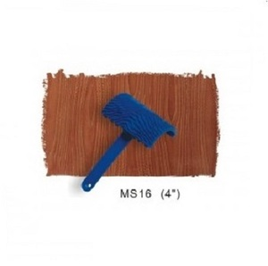 Оптовик DIY украшения Настенная живопись пластик ручка инструмент древесины зернистость узор стены книги по искусству инструмент
