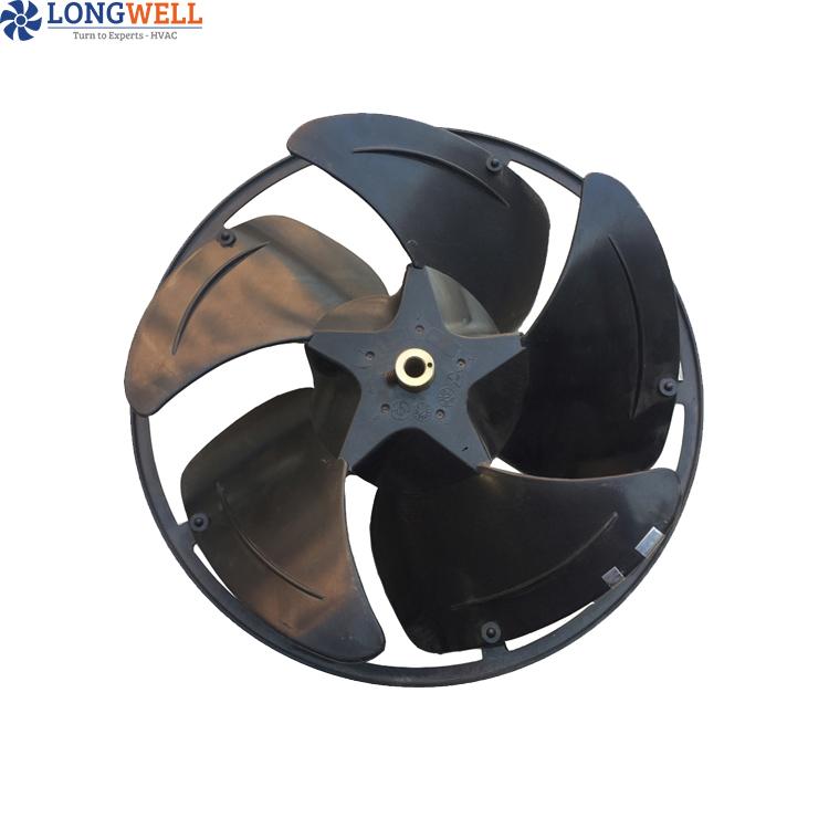 شهادة CE المحركات الدوارة الخارجية كفاءة وتوفير الطاقة التهوية ومعدات التبريد مروحة محورية