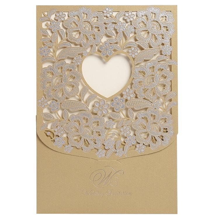 Baskılı <span class=keywords><strong>coco</strong></span> stilleri düğün davetiyesi kartları altın folyo damgalama ile