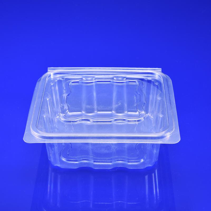Gıda sınıfı gıda kapları ambalaj plastik saklama kutusu bölücü ile