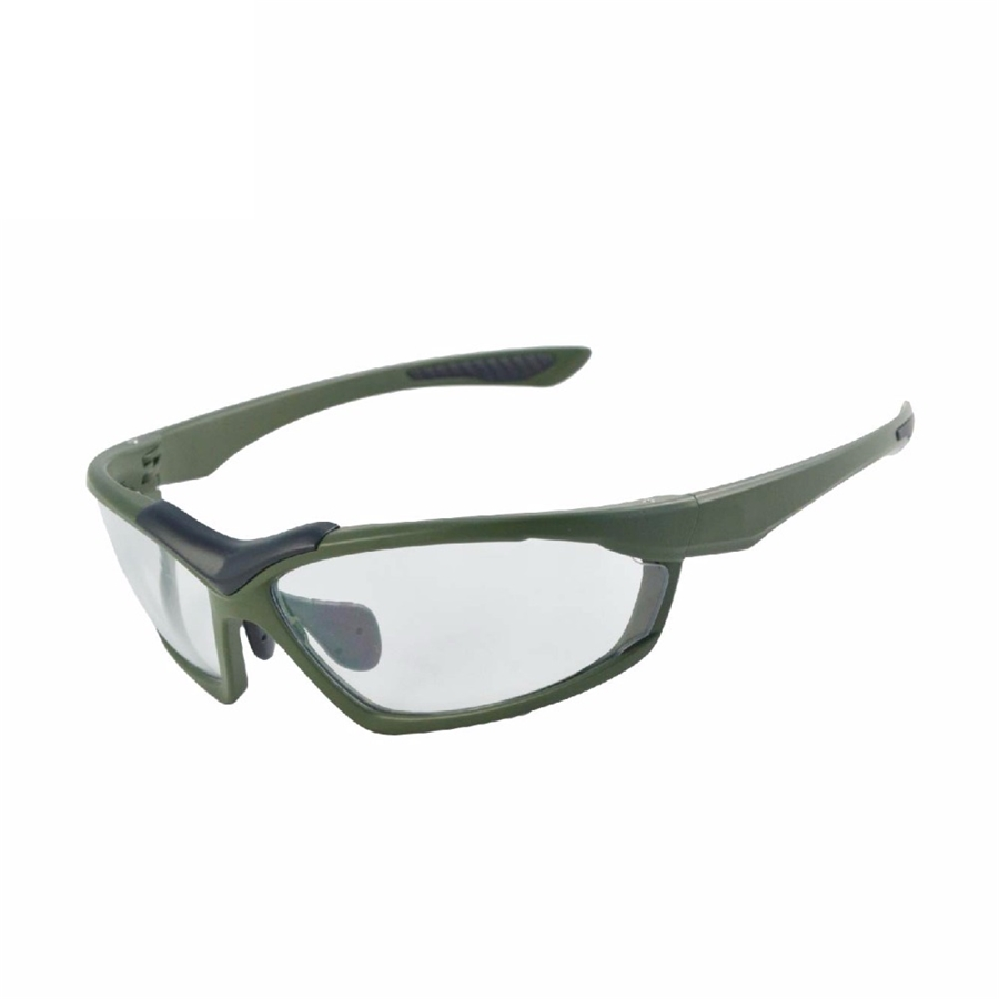 Taiwan laser logo lenti trasparenti occhiali di sicurezza occhiali personalizzati