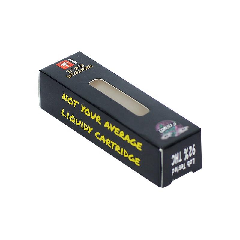 Personalizzato Confezione Neutra per Cartuccia CBD CBD Vape Penna