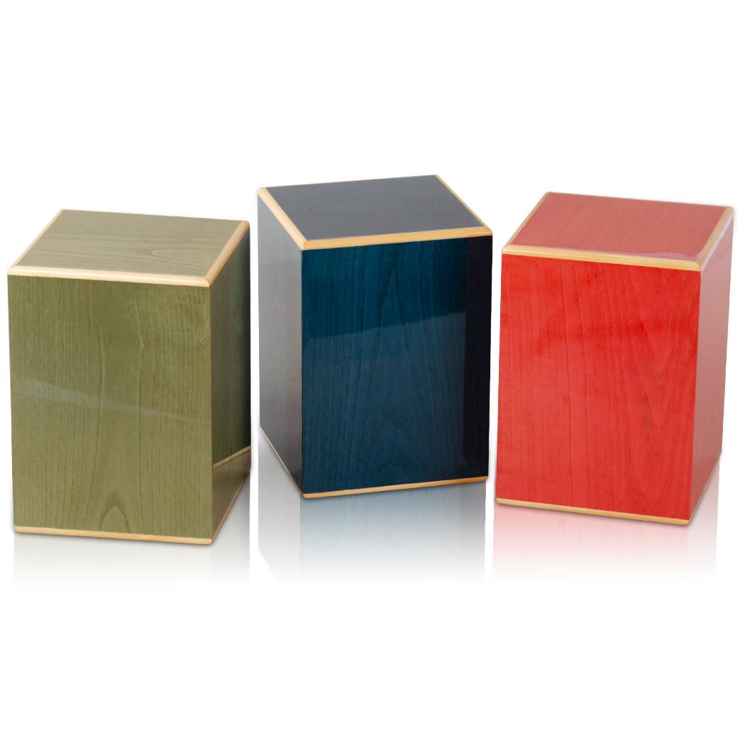 Fabrika toptan Modern tasarım çoklu renk Burial Urns büyük <span class=keywords><strong>Urn</strong></span> İnsan külleri için