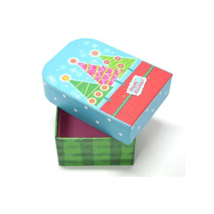 Pequeña boda de papel de caramelo caja ArtPaper superficie caja de regalo