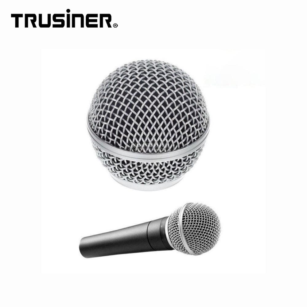Chất Lượng cao Mic Microphone Bóng Đầu Lưới Tản Nhiệt Cho Shure