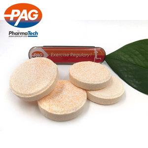 OEM Halal Gesundheit Lebensmittel Ergänzung Brause Multivitamin Tabletten Für Gesundheit