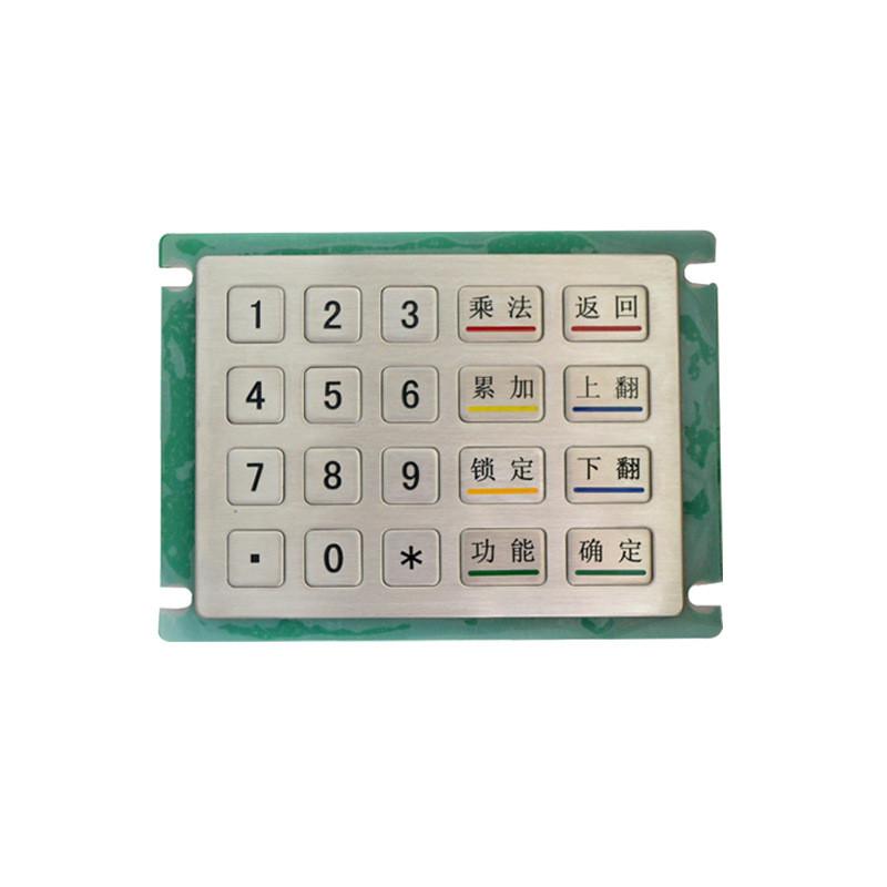 20 tasti Portoghese Spagnolo Francese Tedesco personalizzare USB <span class=keywords><strong>porta</strong></span> di metallo tastiera