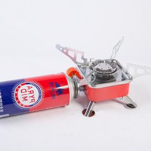 Buji primus tek propan çin taşınabilir ocak açık gaz mini soba