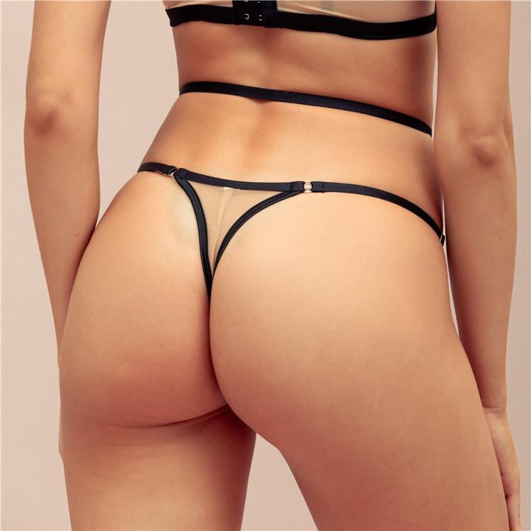 Fabbrica Direttamente Con Il Cinturino Elastico Sexy Mini Donne Del Merletto Trasparente Panty Stringa di G