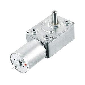 DC 250 دورة في الدقيقة دودة موتور تروس 6 ملليمتر رمح التوربينات المخفض 12 فولت DC موتور تروس 900 دورة في الدقيقة