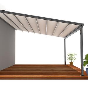 De Comercio Mostrar techo pérgola garaje plegable campamento baratos dosel aparcamiento caravana coche toldo pérgola
