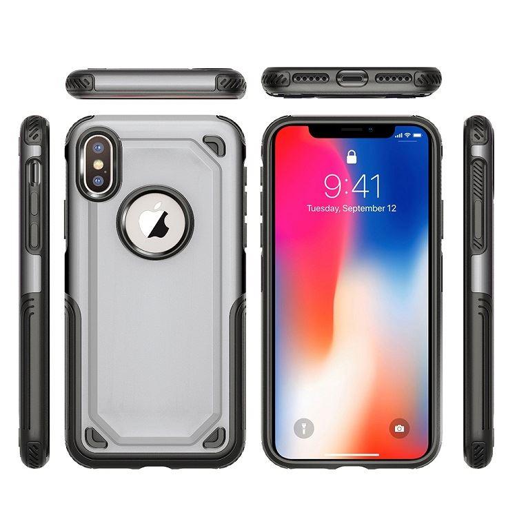 Anual promoción TPU 2 en 1 para iphone xr caja del teléfono del caso para el iphone