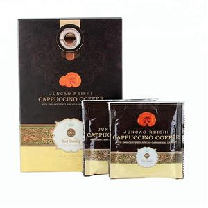 % 2020 organik sertifikalı Reishi mantarı Lingzhi anında ganoderma lucidum kahve