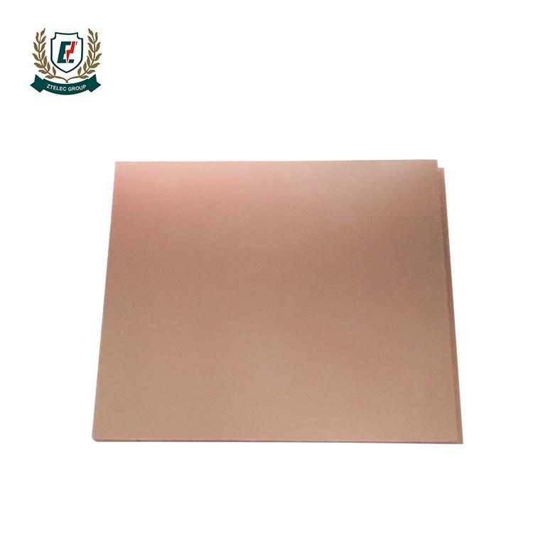 ZTELEC ламинированная доска фольгорованный стеклотекстолит CCL FR-4 для электронного <span class=keywords><strong>оборудования</strong></span> PCB