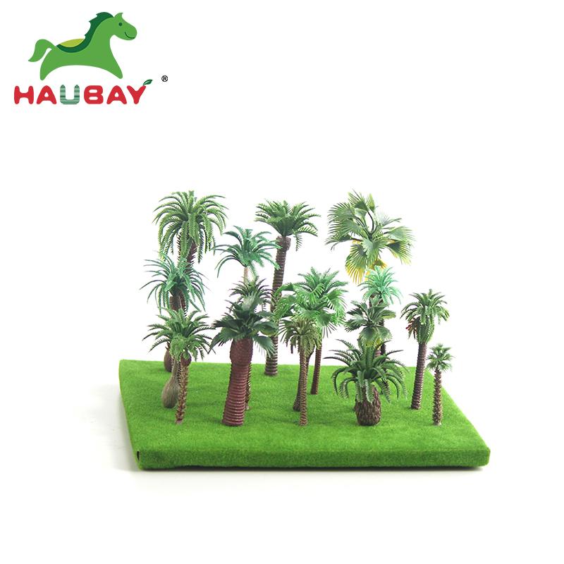 Хорошее качество Лучшая цена поезд миниатюрный N Ho Весы Модель Palm Tree