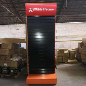 تخصيص أداة محلات التجزئة الأرفف الأجهزة عرض موقف pegboard لوحة الرف السنانير