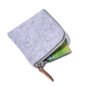 Venta al por mayor de alta calidad personalizado Mini con cremallera monedero de dinero era moneda cartera organizador bolsa