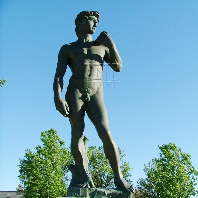 <span class=keywords><strong>Arte</strong></span> do jardim de metal famosa figura <span class=keywords><strong>ocidental</strong></span> escultura de <span class=keywords><strong>bronze</strong></span> e estátua de david