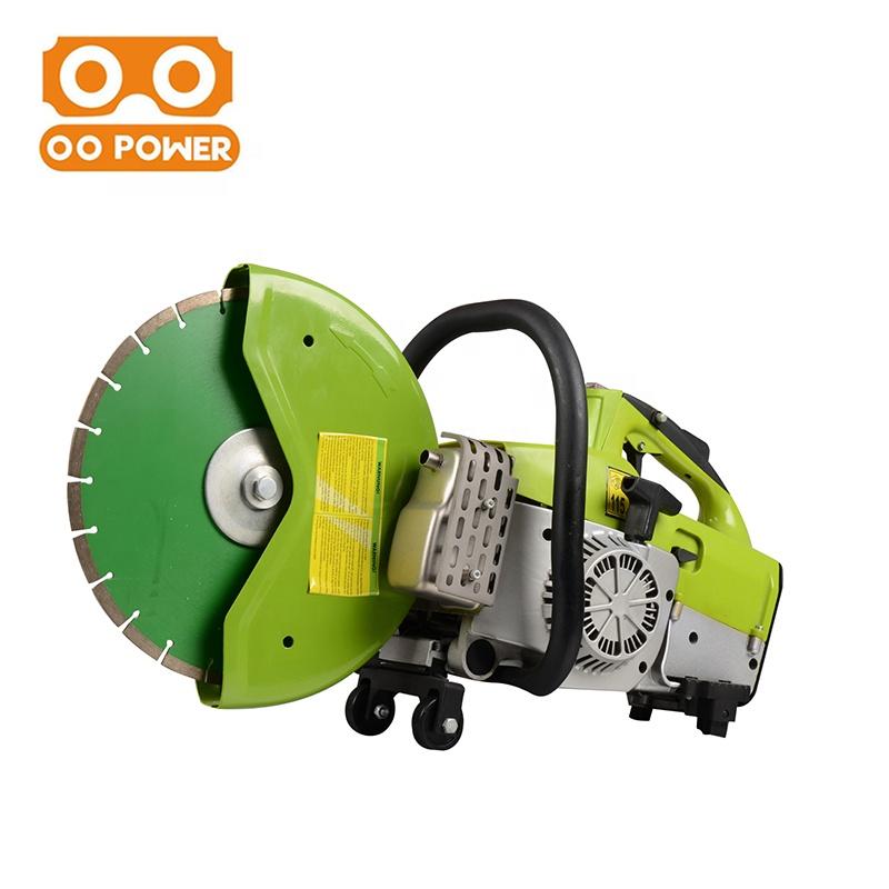O O Power 64.1cc Puissant 12 pouces Main Essence Scie À béton