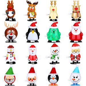 Дешевые Цены, Высокое Качество На Заказ Смешные Рождественские Заводные Пластиковые Игрушки